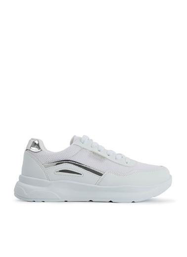 Slazenger Slazenger Zippy I Yürüyüş Kadın Ayakkabı  Beyaz